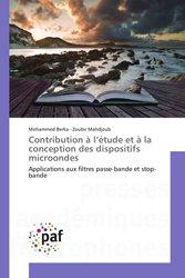 Dernières parutions sur Théorie et traitement du signal, Contribution à l'étude et à la conception des dispositifs microondes