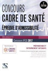 Souvent acheté avec Concours Cadre de santé 2017-2018, le Concours cadre de santé 2017