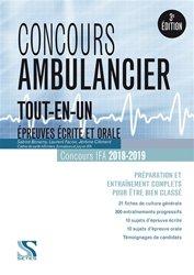 Dernières parutions sur Ambulancier, concours ambulancier tout-en-un
