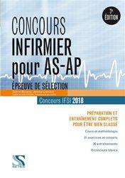 Nouvelle édition Concours Infirmier pour AS-AP 2018