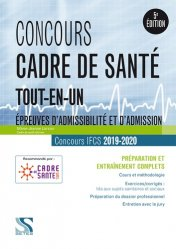 Dernières parutions sur Cadre de santé, Concours cadre de santé 2019 - 2020
