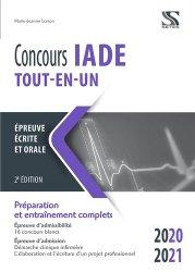 Dernières parutions sur IADE, Concours IADE tout-en-un 2020-2021