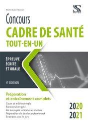 Nouvelle édition Concours cadre de santé