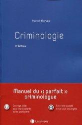 Dernières parutions sur Criminologie , droit pénitentiaire, Criminologie. 3e édition