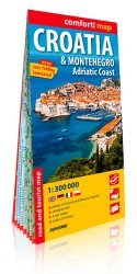 Dernières parutions dans Comfort ! Map, Croatia & Montenegro, Adriatic Coast. 1/300 000