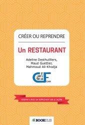 Dernières parutions sur Création d'entreprise, Créer ou reprendre un restaurant