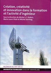 Dernières parutions sur Production industrielle, Création, créativité et innovation dans la formation et l'activité d'ingénieur