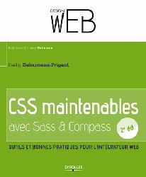 Dernières parutions dans Design Web, CSS maintenables avec Sass/Compass