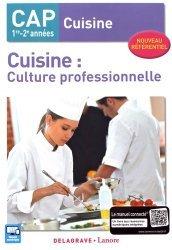 Souvent acheté avec Prévention Santé Environnement CAP, le Cuisine culture professionnelle cap cuisine élève 2017