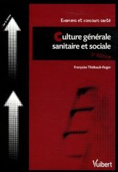Souvent acheté avec Concours d'entrée en IFSI Thèmes et textes de culture générale, le Culture générale sanitaire et sociale