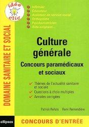 Souvent acheté avec Entrée en instituts d'AS-AP Épreuve orale, le Culture générale Concours paramédicaux et sociaux