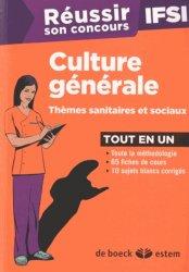Souvent acheté avec Les tests d'aptitude au concours IFSI, le Culture générale