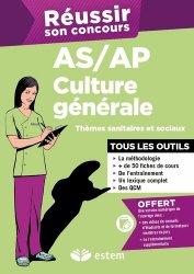 Dernières parutions sur Tout-en-un, Culture générale AS/AP 2015 - Thèmes sanitaires et sociaux
