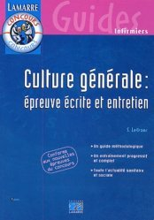 Souvent acheté avec Épreuve orale  Entrée en IFSI, le Culture générale : épreuve écrite et entretien