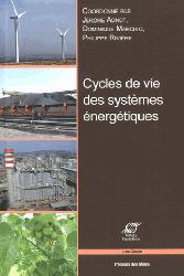 Dernières parutions dans Les cours, Cycles de vie des systèmes énergétiques
