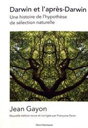 Dernières parutions sur Sciences de la Vie et de la Terre, Darwin et l'après-Darwin