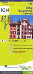 Dernières parutions sur Aquitaine, Dax, Bayonne, Pays Basque. 1/100 000, 4e édition