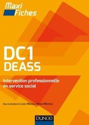 Dernières parutions dans Maxi fiches, DC1 DEASS Intervention professionnelle en service social