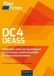 Dernières parutions dans Maxi fiches, DC4 DEASS Implication dans les dynamiques partenariales, institutionnelles et interinstitutionnelles