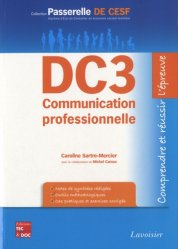 Nouvelle édition DC3 Communication professionnelle