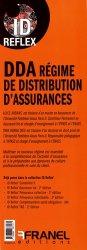 Dernières parutions dans ID Reflex, DDA régime de distribution d'assurances
