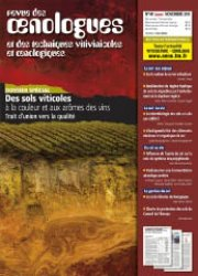Dernières parutions dans revue des oenologues, Des sols viticoles à la couleur et aux arômes des vins