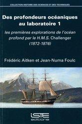 Dernières parutions sur Hydrologie - Océanologie, Des profondeurs océaniques au laboratoire 1