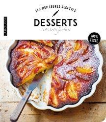 Dernières parutions dans Les meilleures recettes, Desserts très très faciles