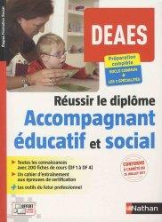 Dernières parutions sur DEAES (ex-DEAMP / DEAVS), DEAES Réussir le diplôme d'accompagnant éducatif et social (DEAMP + DEAVS)