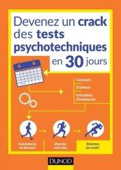 Dernières parutions sur Concours d'entrée orthophoniste, Devenez un crack des tests psychotechniques en 30 jours