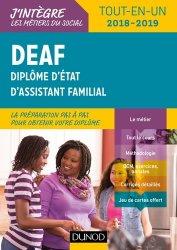Dernières parutions sur ADVF - DEAF - DECESF, DEAF 2018/2019 - Tout-en-un