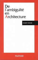 Dernières parutions sur Essais, De l'ambiguïté en architecture