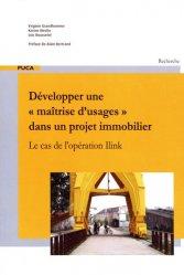 Dernières parutions dans Recherche, Développer une maîtrise d'usages dans un projet immobilier