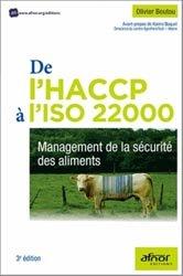 Dernières parutions sur Hygiène et sécurité alimentaire, De l'HACCP à l'ISO 22000