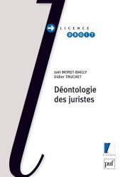 Dernières parutions dans Licence droit, Déontologie des juristes