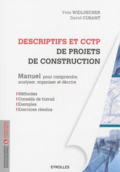 Souvent acheté avec Manuel de l'étude de prix, le Descriptifs et cctp de projets de construction