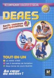 Dernières parutions sur DEAES (ex-DEAMP / DEAVS), DEAES - Tout en un - Socle Commun