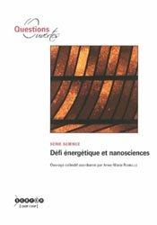 Dernières parutions sur Nanotechnologies, Défi énergétique et nanosciences