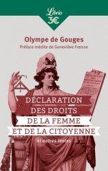 Dernières parutions dans Librio, Declaration des droits de la femme et de la citoyenne, et autres textes