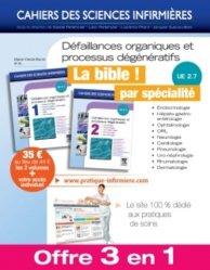 Dernières parutions dans Cahiers des sciences infirmières, Défaillances organiques et processus dégénératifs Volume 1 et 2