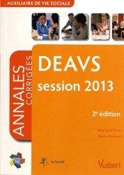 Souvent acheté avec DEAVS, le DEAVS session 2013. Auxiliaire de vie sociale, Annales corrigées