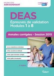 Nouvelle édition DEAS - Annales corrigées 2015