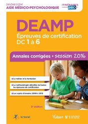 Souvent acheté avec Tout le DEAMP en fiches mémos - Diplôme d'état aide médico-psychologique, le DEAMP session 2016