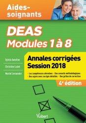 Dernières parutions sur Aide-soignant - DEAS, DEAS - Annales corrigées 2018
