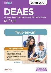 Dernières parutions dans Itinéraires pro, DEAES DF 1 à 4 2020-2021