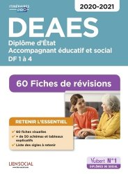 Dernières parutions dans Itinéraires pro, DEAES Diplôme d'Etat, Accompagnant éducatif et social, DF 1à  2020-2021