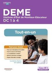 Dernières parutions dans Itinéraires pro, DEME - Domaines de compétences 1 à 4