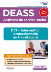 Dernières parutions sur Paramédical, DEASS - DC1 Intervention professionnelle en travail social