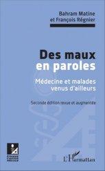 Dernières parutions dans Éthique médicale, Des maux en paroles