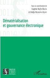 Dernières parutions sur Multimédia, Dématérialisation et gouvernance électronique